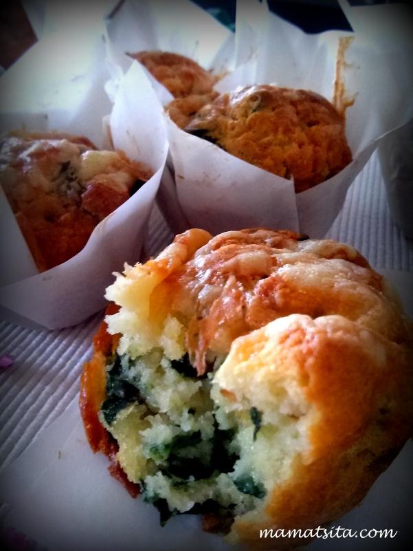 muffins σπανάκι