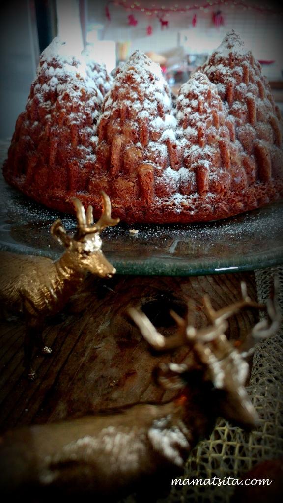 Χριστουγεννιάτικο κέικ